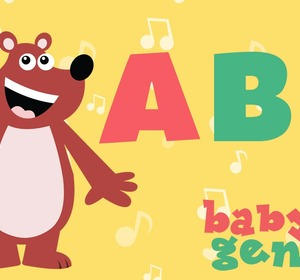 The Abc Song Nursery Rhyme Cartoons For Kids Video By Babygenius Fawesome Tv