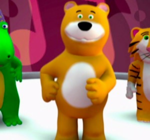 Vinko The Dancing Bear Song Sing Along Video By Babygenius