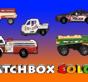 Matchbox Colors   Cars, Trucks, Vans, Monster Trucks, Fire And Rescue Video  By Vids4kids | Fawesome.tv