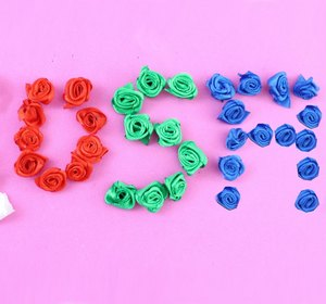 cmo hacer rosas pequeas con listn de seda satn o de rosas video by fawesometv