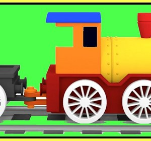 magic train construction demo learn colors kids cartoons cars video video by ploopchannel fawesometv