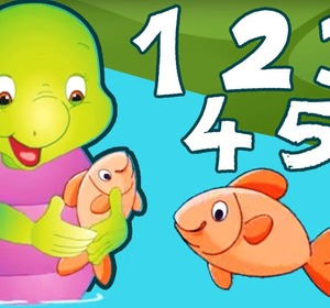 12345 once i caught a fish alive numbers song nursery for Once i caught a fish alive
