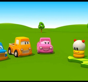 The Clever Cars Caterpillar Toy Learn Colours With 3d Children S Cartoons