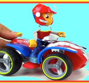 Paw Patrol Games Kid S Toys Ryder Motorcycle Unboxing Demo