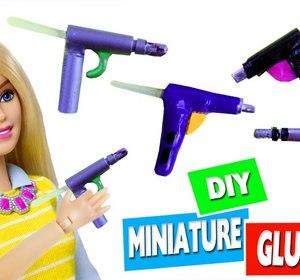 Diy Miniature Realistic Hot Glue Gun Easy Doll Craft Video By