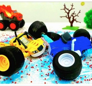 ice crash monster trucks toy trucks videos for kids toy cars story for kids monster machines video by ploopchannel fawesometv