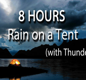 8 Hours - Relaxing Nature Sounds Rain on Tent Roof - Sleep - Insomnia - Meditation Video by TheHonestGuys | fawesome.tv & 8 Hours - Relaxing Nature Sounds Rain on Tent Roof - Sleep ...