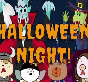 kids halloween songs halloween night