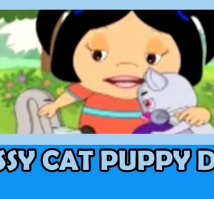Cat Puppy Dog Nursery Rhyme With Full Lyrics Video By Nirvanakids Fawesome Tv