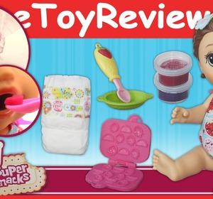 Baby Alive Super Snacks Snackin Lily Brunette Doll
