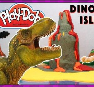 play doh dinosaur