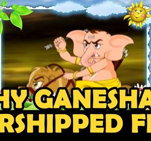 why is ganesha worshipped first