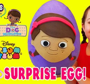 afdfa2609 Play Doh Egg Doc Mcstuffins Shopkins My Little Pony Hello Kitty Videos For  Children Video by ToyBoxMagic   fawesome.tv