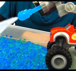 swim orbeez ocean videos for kids toy trucks toy cars story for kids blaze monster machines video by ploopchannel fawesometv