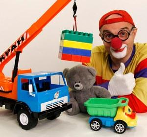 car clown videos for kids toy lego