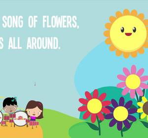 Sing a song of flowers song lyrics for kids nursery rhymes best sing a song of flowers song lyrics for kids nursery rhymes best kids songs video by kiboomu fawesome mightylinksfo