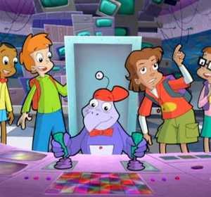 Cyberchase Characters Slider