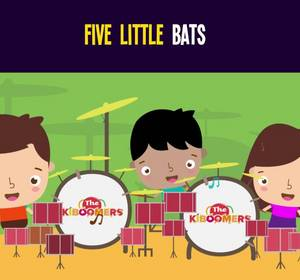5 Little Bats Song for Kids - Halloween Songs for Children Video ...