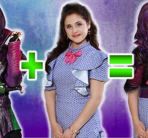 Mashup Disney Descendants Good Bad Mal Evie Maleficent