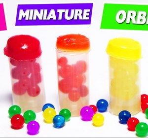 Diy Miniature Orbeez Cans 5 Minute Craft Video By Simplekidscrafts