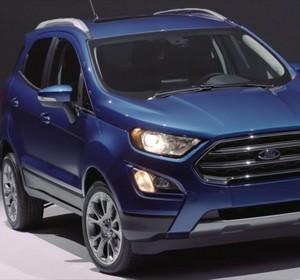 Ford EcoSport Titanium Interior And Exterior Design Studio Video By AutoMotoTV