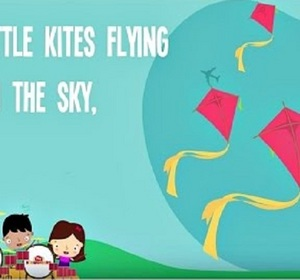 Five little flowers song and lyrics for kids 5 little flowers song kites song for kids five little kites so mightylinksfo Image collections
