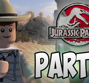 LEGO Jurassic World- PART 11 - Landing Site - Walkthrough - Jurassic Park 3