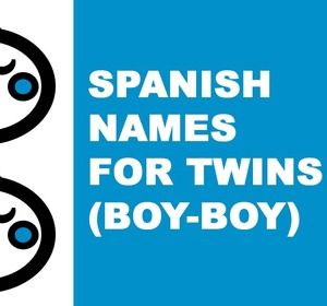 Spanish Names For Baby Twins Boy