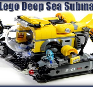 Lego City Deep Sea Submarine 60092 Stop Motion Review ALEXSPLANET Video by Alexsplanet | fawesome.tv