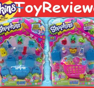 Vol 2 Season 1 Shopkins 10 And 12 Pack 4 Mystery Shopkins Unboxing Review  Video By TheToyReviewer | Fawesome.tv