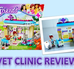 New 2015 Lego Friends Vet Clinic 41085 Review Video By
