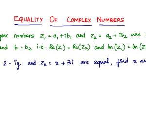 Multiplicative Inverse Of Complex Numbers
