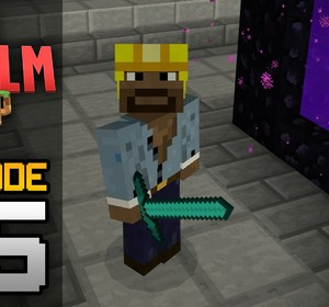 Realms Multiplayer Survival Ep  5 - NETHER HUB DISASTER