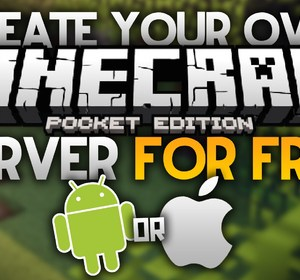CREATE A FREE SERVER for MCPE - Android And iOS- NO JAILBREAK- Minecraft  PE-Pocket Edition