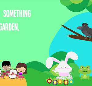 There 39 S Something In My Garden Song Lyrics For Kids Animal Songs For Preschoolers Video By