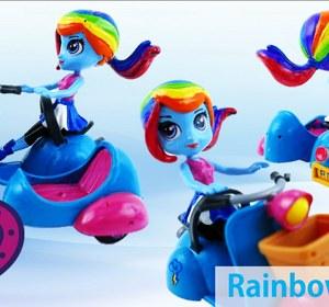 New My Little Pony Equestria Girls Rainbow Dash Doll Custom With Lps