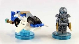 LEGO Dimensions Ninjago Zane And NinjaCopter Fun Pack Toy 71217 Review