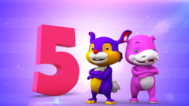 Number Five  Original Number and Counting songs for Children  Hippy Hoppy Show