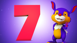 Number Seven  Original Number and Counting Songs for Children  Hippy Hoppy Show