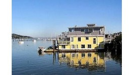 Houseboats In Sausalito California