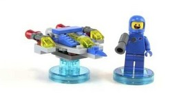 LEGO Dimensions Benny And Spaceship- Fun Pack Toy Review -71214