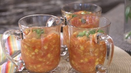 Rush Hour Recipes - Crawfish Corn Soup