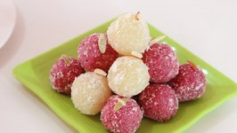 Beetroot and Coconut Ladoo