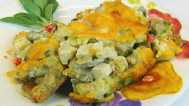 Betty's Chicken, Dressing, and Vegetable Casserole