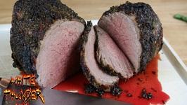 Herb Crusted Roast Beef -Eye Of Round Roast