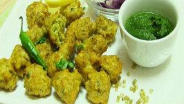 Surti Ponk Vada - Green Sorghum Fritters