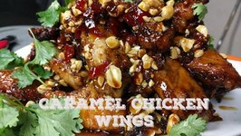 How To Make Spicy Caramel Chicken Wing