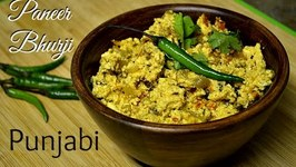Delicate Paneer Bhurji -Indian Cottage Cheese