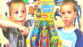 Kids Taste Test Chocolate Yowie Surprise - Kinder Surprise Egg Competition
