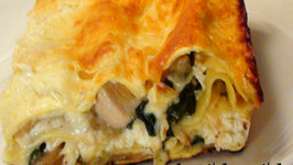 Rosemary Chicken and Mushroom Lasagna - How to make Chicken Lasagna